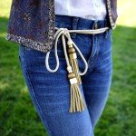 Мастер класс: стильный пояс к джинсам