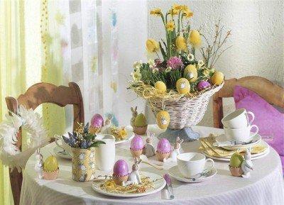Идеи для украшения дома к Светлому празднику - Пасхе