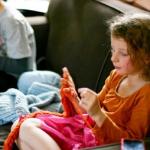 Мастер-класс: вязание на пальцах