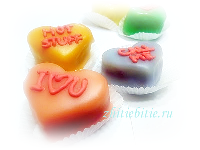 Миндальные сердечки птифуры (рецепт +фото)