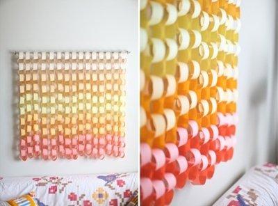 Идеи для интерьера: стиль омбре на стенах, мебели, текстиле (фото +видео)
