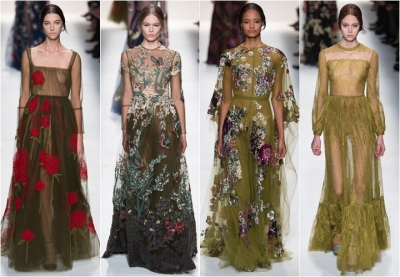 Платья: осень–зима 2014–2015 (фото + видео)