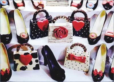 Эксклюзивный шоколад: сладкие дамские аксессуары