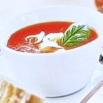 Суп пюре томатный с «ракушками» (+фото)