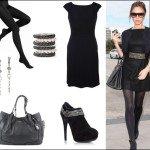 Маленькое черное платье. Создание модного образа (фото)
