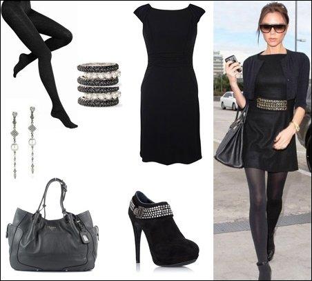 Маленькое черное платье. Создание модного образа