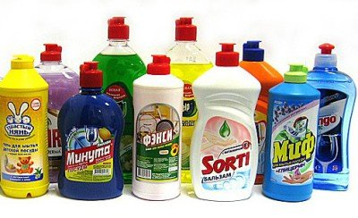 Как приготовить безопасное средство для мытья посуды