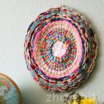 Плетение декоративного коврика