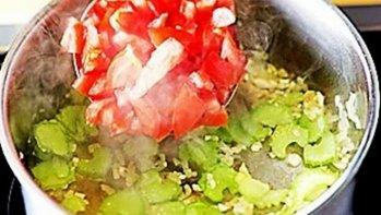 Томатный суп пюре с «ракушками» (+фото)
