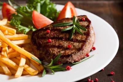 как приготовить стейк из говядины дома на сковороде видео