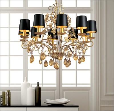Хрустальные потолочные люстры в современном интерьере (+фото)
