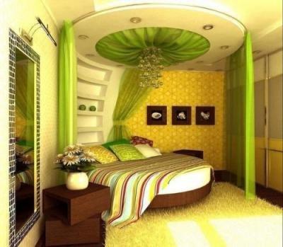 Интерьер спальни +фото