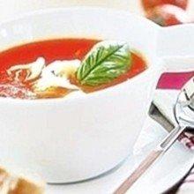 Суп пюре томатный с «ракушками»