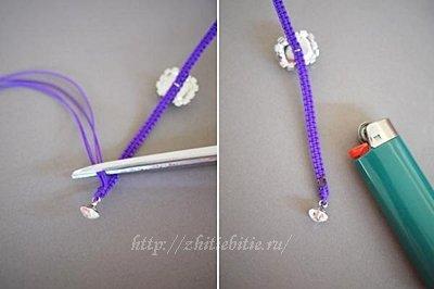 Мастер-класс: браслет плетеный в технике «макраме»