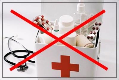 Домашняя аптечка без таблеток и микстур