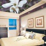 Идеи для интерьера: тканевые натяжные потолки