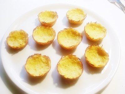 Картофельные корзиночки с начинкой