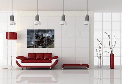 Картины-постеры в интерьере современного жилья (фото+видео)