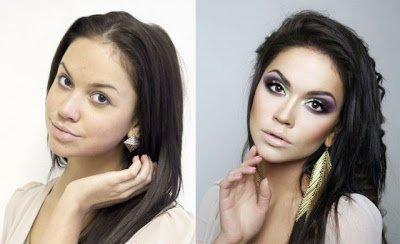 красота До и После