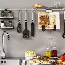 Гаджеты для кухни. Рейлинг-системы: стильно, удобно, современно