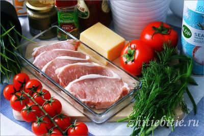 Эскалоп из свинины под сырной корочкой (+фото)