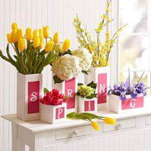Романтичный весенний декор интерьера